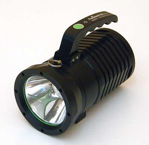 Профессиональный светодиодный поисковый фонарь Pailide D08-A  с 1-м светодиодом и степенью защиты IP6