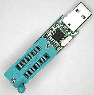 Mодуль RC024: Программатор USB микросхем FLASH/EEPROM памяти серий 24x и 25x.