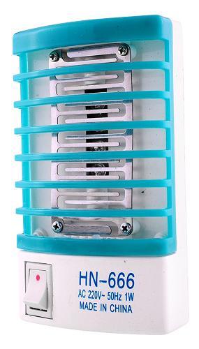 Электронная ловушка для уничтожения комаров в помещении с функцией лампы-ночника