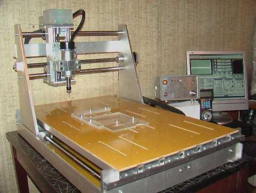 3D фрезерный станок с CNC (ЧПУ) и рабочим полем 505 х 360 х 130