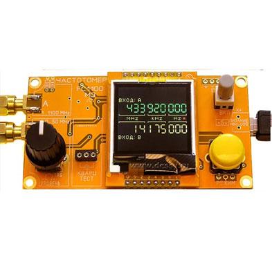Частотомер FC1100-M2 от 1 Гц до 1100 МГц с проверкой кварцев