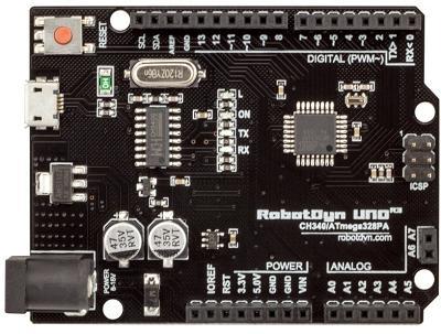 RC096. Arduino UNO R3 CH340G (ATmega168)