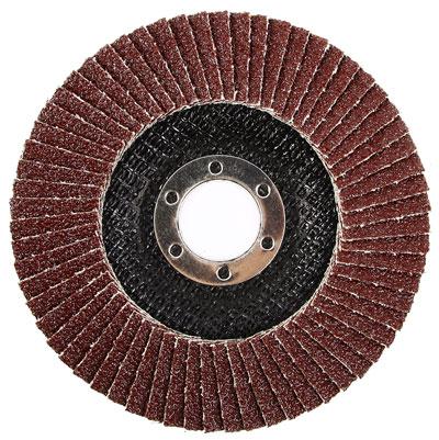Диск лепестковый, шлифовальный для болгарок. Арт. 35828