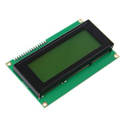 Дисплей LCD С2004A символьный 20 символов 4 строки со встроенным модулем  I2C.