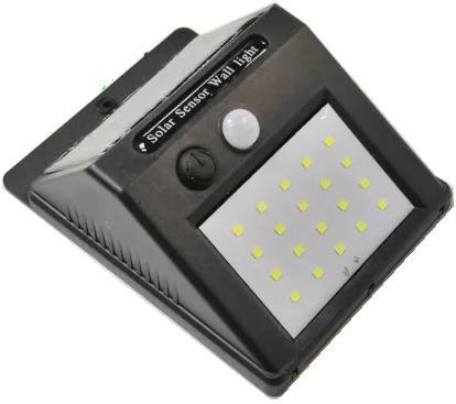 LED-802. Настенный светильник на солнечной батарее с датчиками движения и освещённости