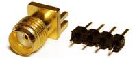 Входной делитель частоты DV1001 для частотомера 1:1000, от 50 МГц до 1000 МГц.