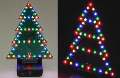 «ЁЛКА-2». Новогодняя светодиодная ёлка. Модуль RL017