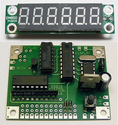 Цифровая шкала DS018A для трансивера / Частотомер до 50 МГц