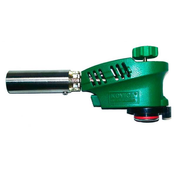 Газовая горелка-насадка KOVICA KS-1005 на газовый баллончик. С пьезоподжигом.