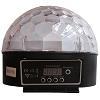 NG-TP2103M. Многорежимная светодиодная диско полусфера для световых шоу со встроенным mp3 плеером, пультом дистанционного управления и флэш диском