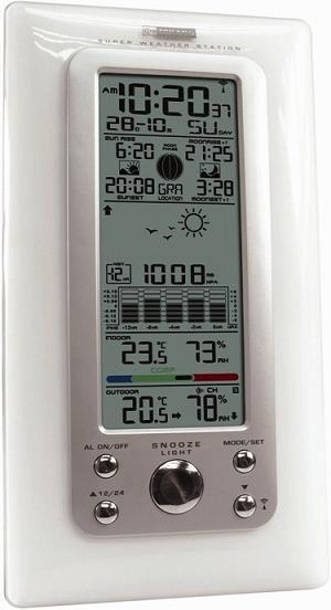 KW9008W-SM(2) WHITE. Цифровая метеостанция