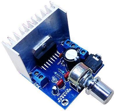 Модуль FE-9720A. Стерео УНЧ 2 х 3,5 Вт на базе TDA7266