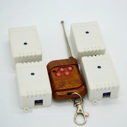 Модули RMC026. 4 радиореле 315 МГц с пультом на 4 кнопки