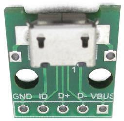 Модуль RC0106. Разъём MicroUSB на плате для Arduino