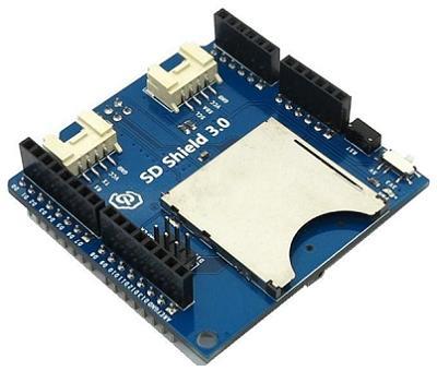Модуль RC0107. SD Shield 3.0 для Arduino