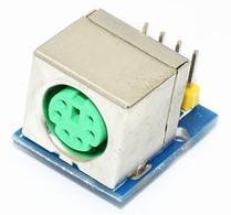 Модуль RC0105. Разъём PS/2 на плате для Arduino