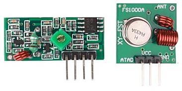 Модуль RF057. Приёмник и передатчик на 315 МГц