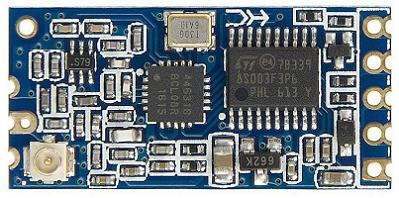 Модуль RF058. Радиомодуль HC-12 на базе SI4463