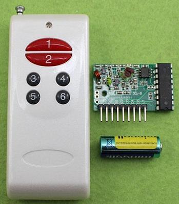 Модуль RF056. Приёмник и передатчик на 6 каналов