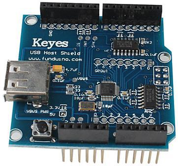 Модуль RC0112. Arduino USB host shield
