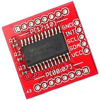 Модуль RC0115. Расширитель портов ввода-вывода на PCF8575 (I/O Expander)