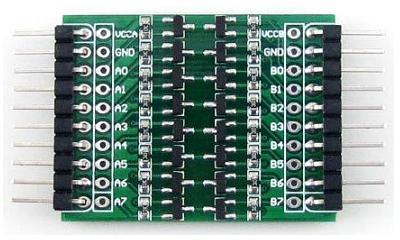 Модуль RC0116. Транзисторный преобразователь уровней на 8 каналов. Двунаправленный.