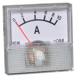 Модуль RI034. Амперметр стрелочный на 10 Ампер