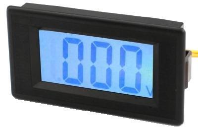 Модуль RI0130. Вольтметр DC 0...100 В. LCD дисплей