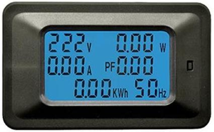 Модуль RI0124. Цифровой вольтметр, амперметр, ваттметр, счётчик. Тип 2