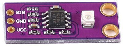 Модуль RI0133. GUVA-S12SD. Датчик УФ-излучения