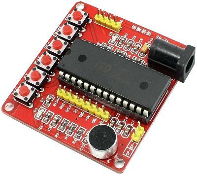 Модуль RS013. Модуль записи и воспроизведения звука на ISD1760