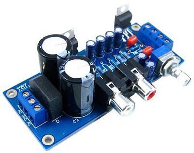 Радиоконструктор RS052. Стерео УНЧ 2x18 Вт на TDA2030A