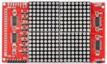 Модуль RL024. LED матрица 16х16. КРАСНАЯ