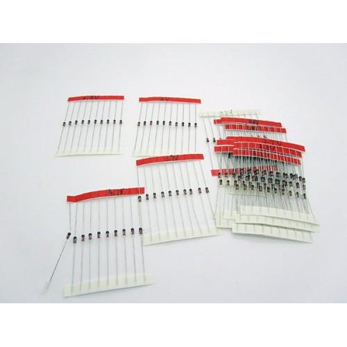 Набор стабилитронов 3,3-30 В 1 Вт