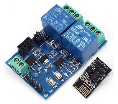 Модуль RMC027. WI-FI реле на 2 канала (ESP8266)