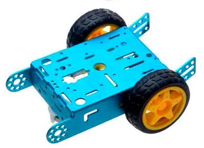 Металлическое колесное шасси