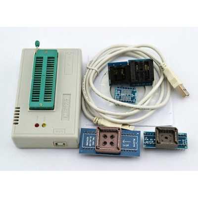 Программатор MiniPro TL866 USB + переходники и экстрактор