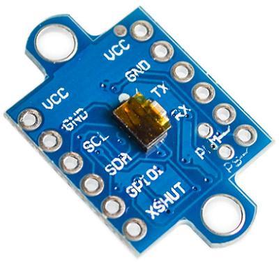 Модуль RI0132. VL53L0X. Оптический дальномер