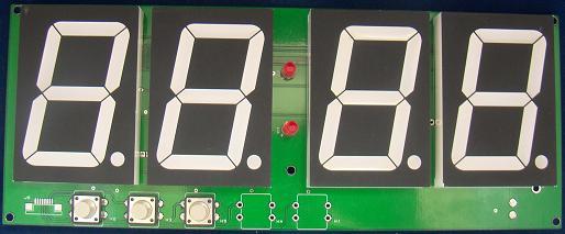 ADV2348. Электронные часы. Набор для самостоятельной сборки