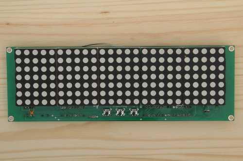 Часы матричные DIP DMC628-4 Зеленые