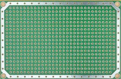 Плата печатная макетная 0.5DM_1L