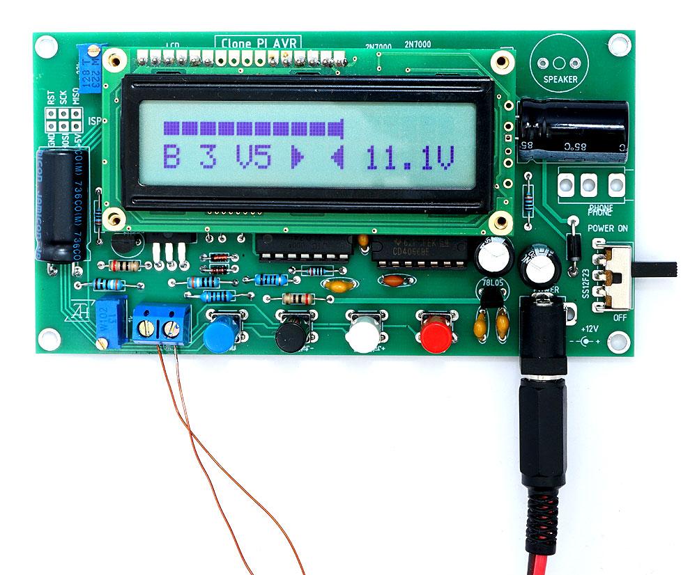 Металлоискатель ClonePI AVR