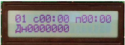 Контроллер KVA17-1 управления автоматическим поливом растений.