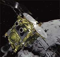 Космическая станция «Хаябуса-2» сбросила бомбу на астероид Рюгу